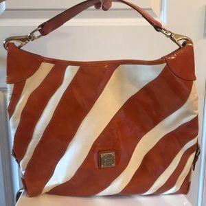 Authentic D&B Patent Leather Canvas Bag